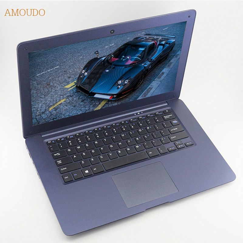 AMOUDO 14inch Intel Core i5 CPU 8GB RAM+240GB SSD+750GB HDD Windows 7/10 System Fast Running Ultrathin Laptop Notebook Computer bben intel core i7 7700hq cpu 17 3inch ram 32g 128g ssd 500g hdd fhd 1920x1080p rgb backlit gtx1060 windows10 laptop notebook