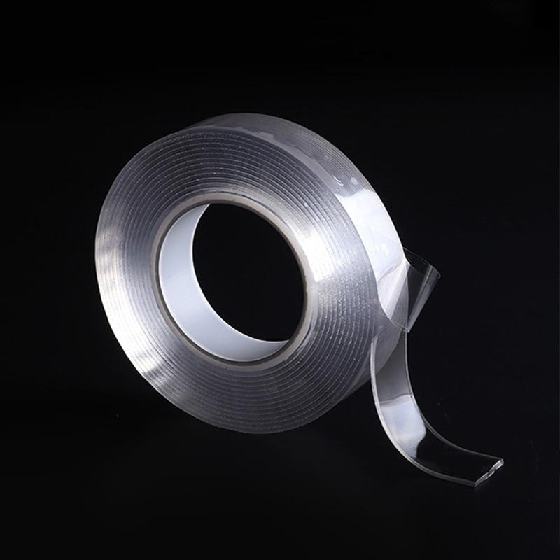 Multifunctional Double Sided Nano Adhesive Tape Traceless