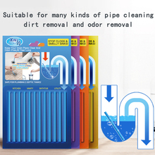 Pipe cleaning rod all-purpose household kitchen water pipe floor drain powerful dredge multi-function unchoke sewer artifact