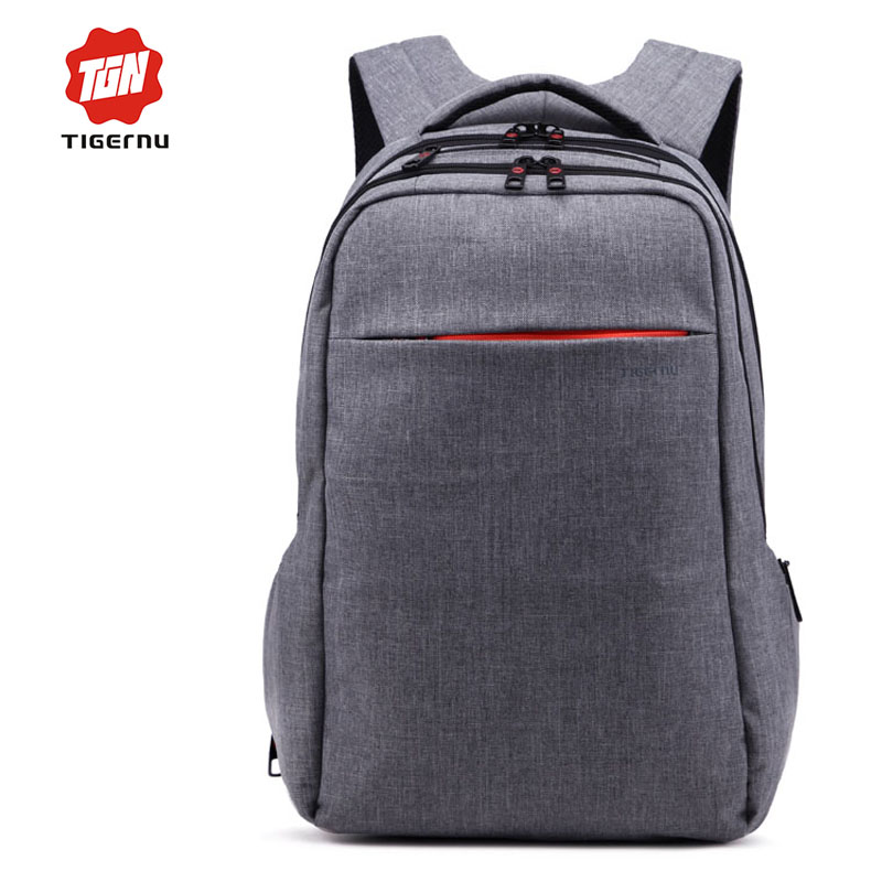 Tigernu Brand Grey font b Backpack b font Canvas Mochila Casual Bagpack font b Women b