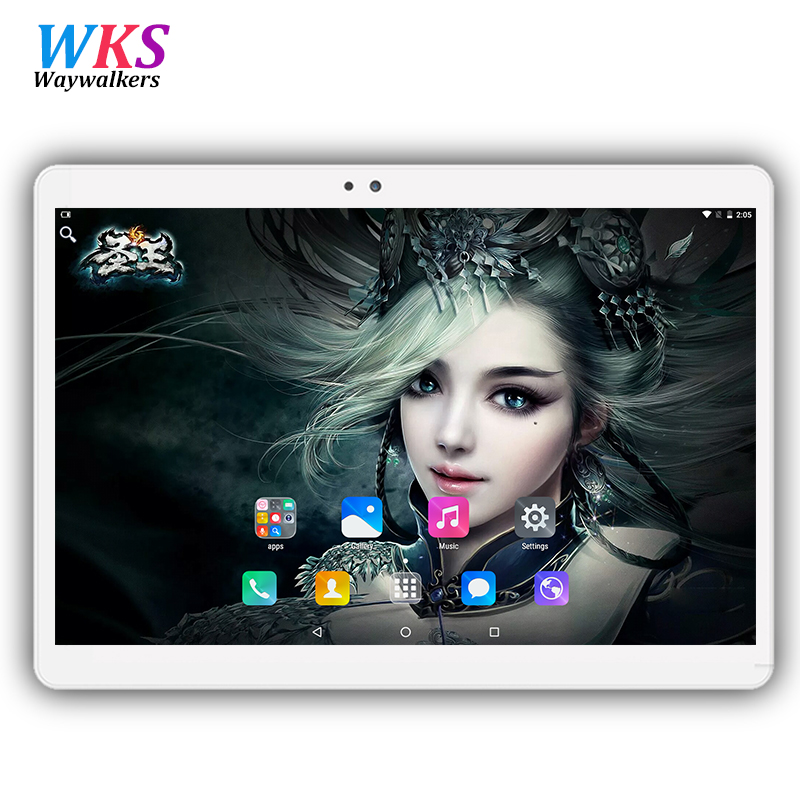 10.1 inch Original tablet pc 3G 4G Phone Call Dual SIM card Android 7.0 octa core CE Brand WiFi FM 4GB+64GB Bluetooth tablets pc carprie new 10 inch hd dual sim camera 3g octa core tablet pc android 4 4 2gb 16gb bluetooth 17sep28 dropshipping