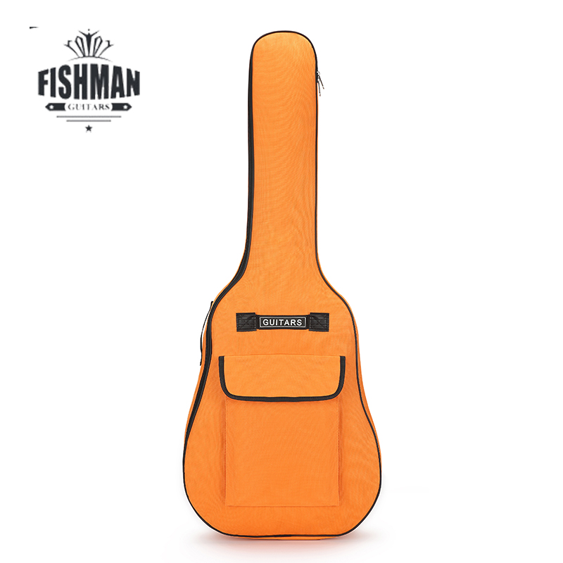 Carry case Waterproof Guitar Bag Pad Cotton Thickening Backpack Double Straps Soft Case for 40 41 Inch Guitar Gig Bag Freeship in Guitar Parts Accessories from Sports Entertainment