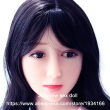 real silicone doll head in Sex Dolls,sex product accessories