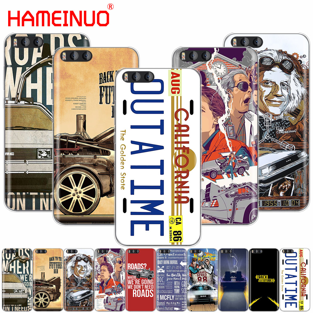 HAMEINUO Back to the Future Cover Case for Xiaomi Mi 3 4 5 5S 5C 5X 6 Mi3 Mi4 4S 4I 4C Mi5 MI6 NOTE MAX 2 mix plus
