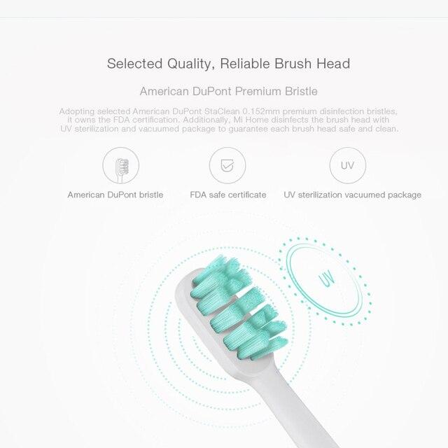 Für Soocas X3 X1 X5 Sonic Elektrische Zahnbürste Pinsel Kopf für Xiaomi Mijia Ersatz Elektrische Zahnbürste Köpfe Heißer Verkauf 3 stücke
