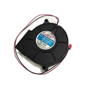Dmuchawy chłodnica wentylator SANLY SF7530SL DC bezszczotkowy silnik wentylatora 0 08A 12V tanie i dobre opinie repairist Z tworzywa sztucznego Procesor Other Łożysko kulkowe 50000 godzin 2 Linie Gniazdo 370 Socket A