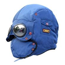 5-10 Years Children winter bomber hats balaclava mask windpr