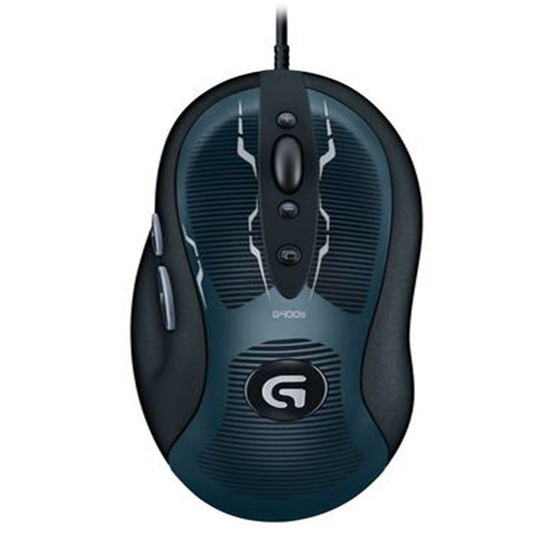 100% Original and New Logitech wired G400s Optical Gaming Mouse 4000dpi with retailed box