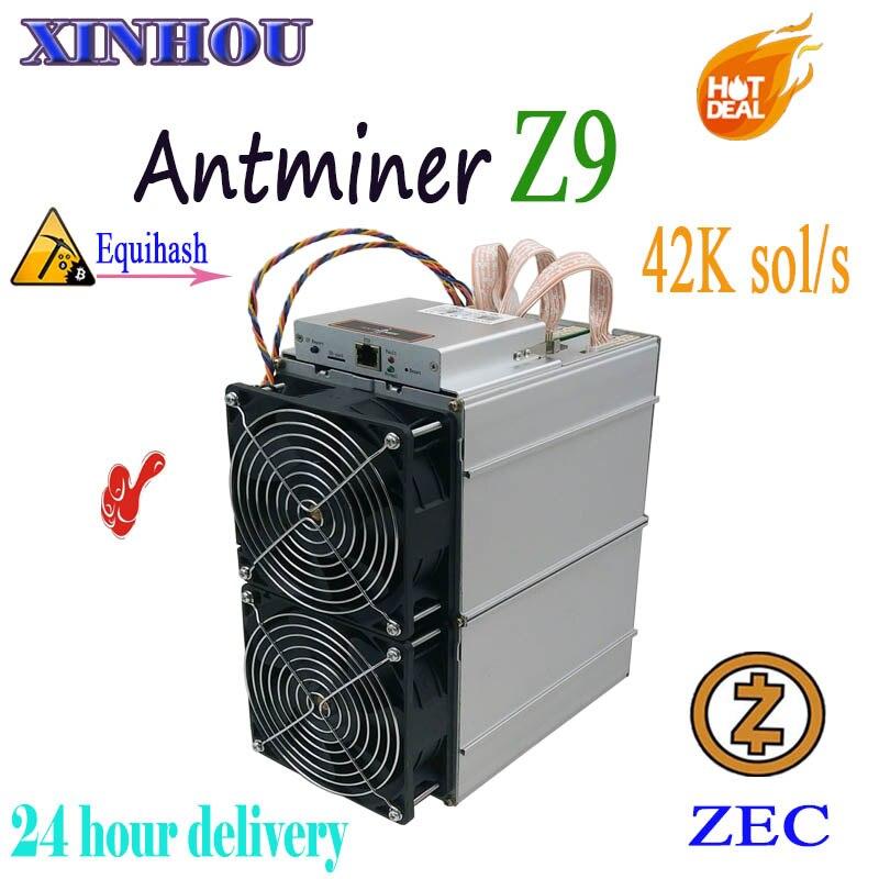 Utilizados mineiro asic Antminer Z9 42 k sol/s Equihash Para ZEN ZEC Mineração Melhor do que Z11 Bitmain Antminer z9mini B7 S17 Innosilicon A9