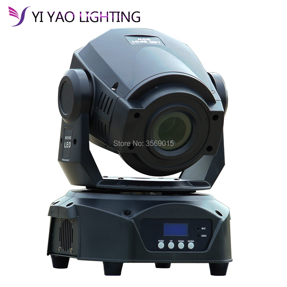 90W 2gobos 3 Prism LED Spot Moving Head Light Professional Standard, Stage, TV, Architectural And Theatrical Mode