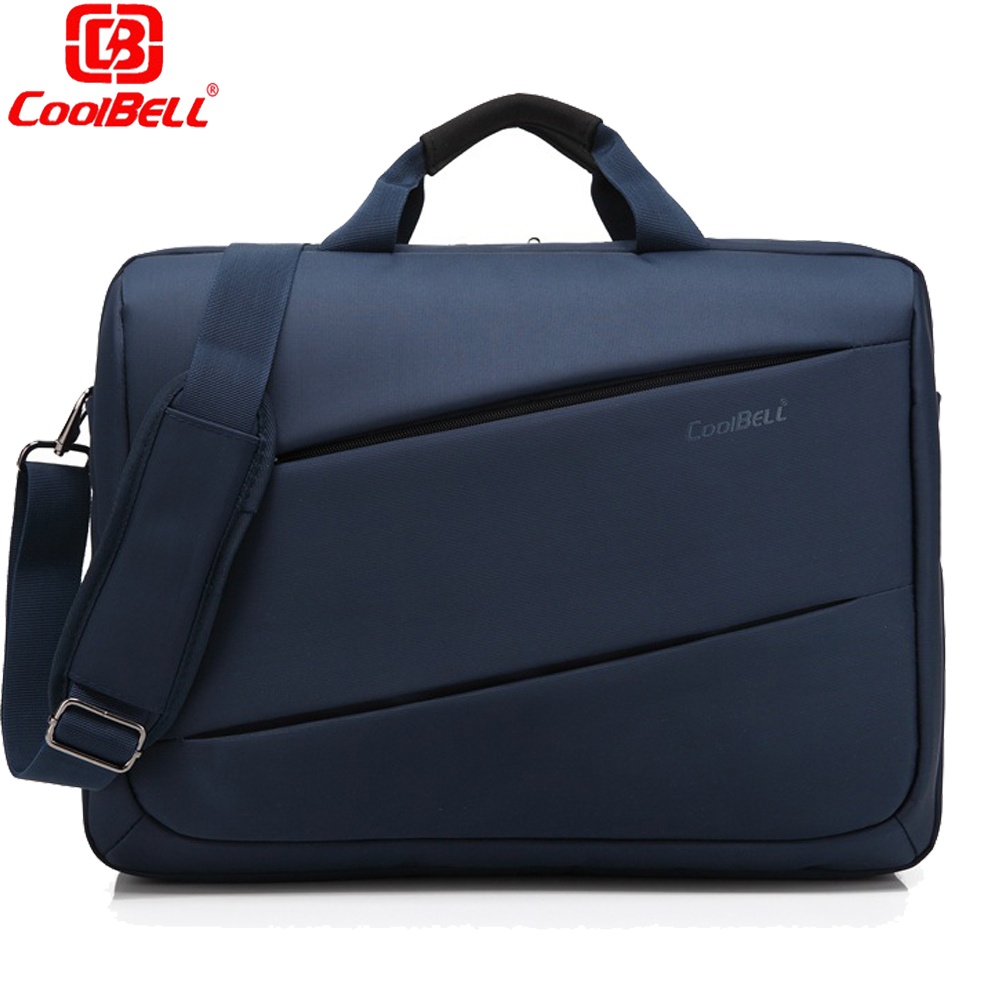ФОТО CoolBell Brand 17.3 inch Laptop Bag 17 Notebook Computer Bag Waterproof Messenger Shoulder Bag Men Women Briefcase Business case