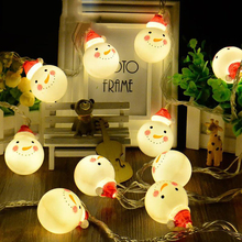 1.5M 3M snowman led fairy string lights holiday led Christmas light home garden indoor party wedding Christmas decoration light