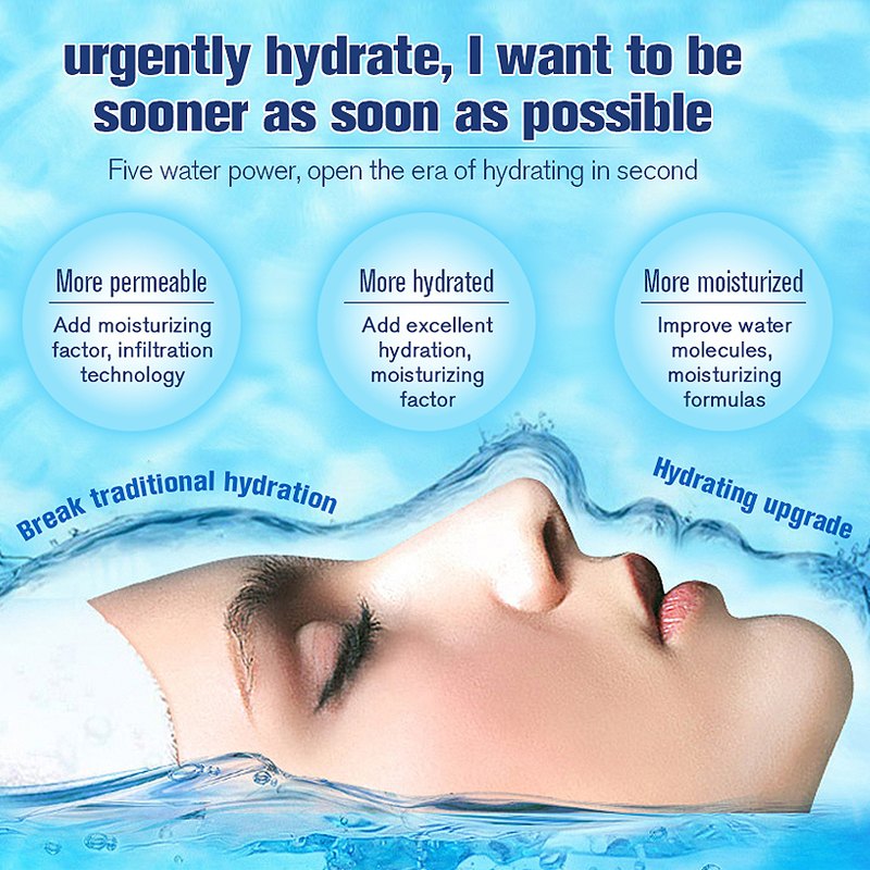 4 pcs LAIKOU Hyaluronic acid Moisturizing Face set Cleanser+Toner+Emulsion+Eye cream korean cosmetics facail care set Pakistan