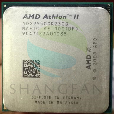 Free Shipping For AMD Athlon II  X2 255 3.1GHz Dual-Core CPU Processor ADX255OCK23GM ADX255OCK23GQ  Socket AM3 938pin