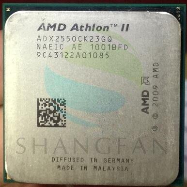 شحن مجاني ل amd أثلون ii x2 255 3.1 جيجا هرتز ثنائي النواة المعالج ADX255OCK23GM ADX255OCK23GQ المقبس am3 938pin