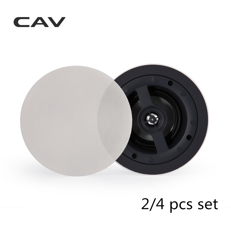 CAV HT 45 In ceiling Speaker Professional Background Music System Surround Sound Home Theater Speaker Stereo