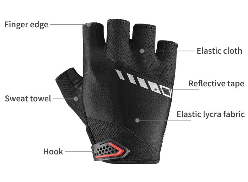 HTB1paIlOOLaK1RjSZFxq6ymPFXan - ROCKBROS Cycling Gloves MTB Road Gloves Mountain Bike Half Finger Gloves Men
