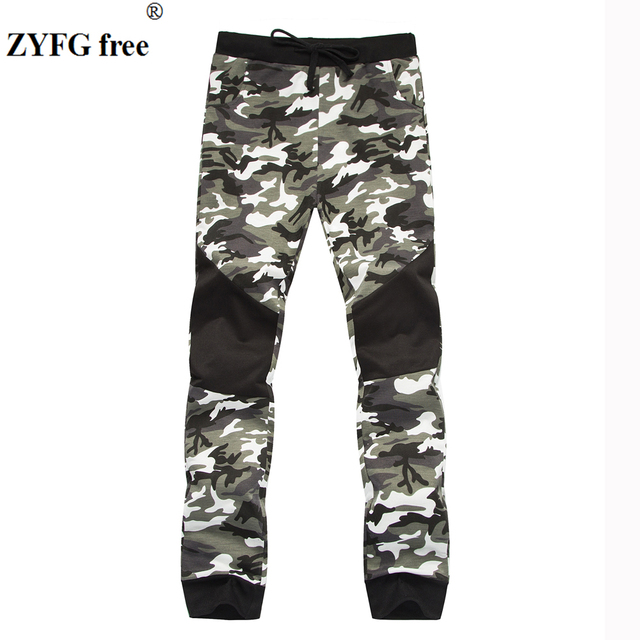 3c308e3ef06e Men s Casual style Lounge pants New 2018 Cotton Performance men camo  pattern Fashion practice Fitness Pants