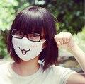 1 unids Lindo Kawaii Anime domo-kun Kaomoji Emotiction boca-amortiguan Algodón de Invierno Divertido Boca Anti-Polvo de La Cara máscara