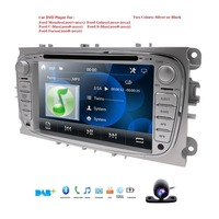 Double 2 Din Car DVD Player GPS Navi for Ford Focus Mondeo Galaxy with Audio Radio Stereo Head Unit Free Canbus SWC RDS DAB+ CAM