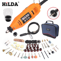 HILDA Power Tools Electric Rotary Tool Dremel Style Mini Drill Dremel Tools Variable Speed Accessories