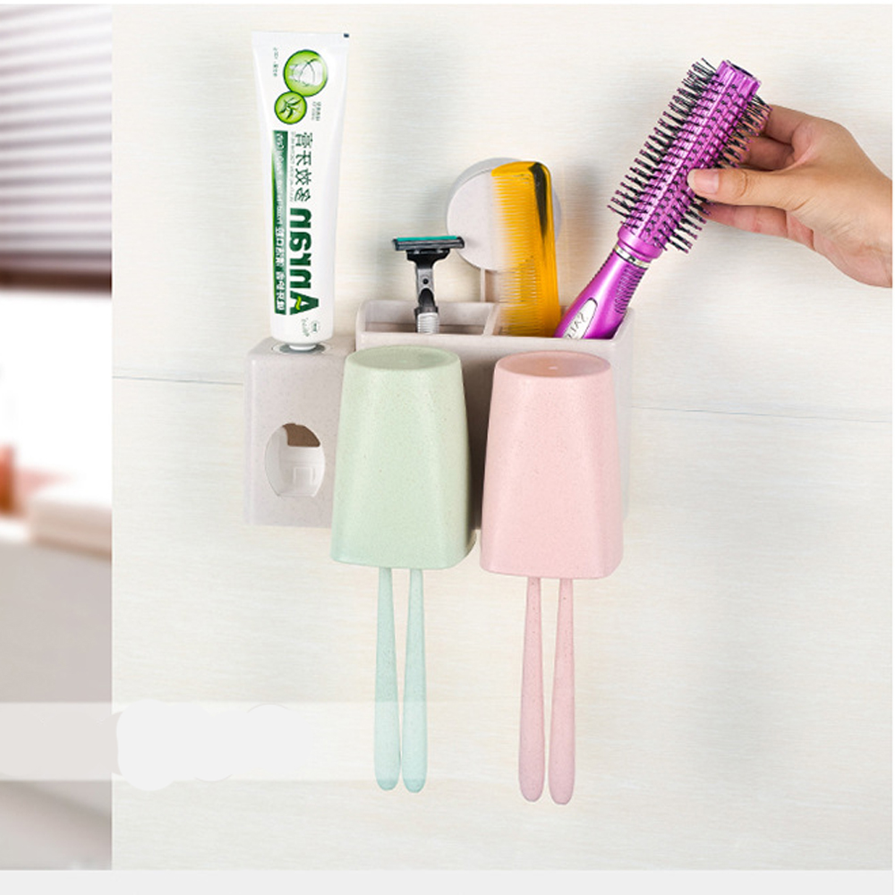 Aliexpress.com : Buy Bathroom accessories set Automatic Toothpaste ...