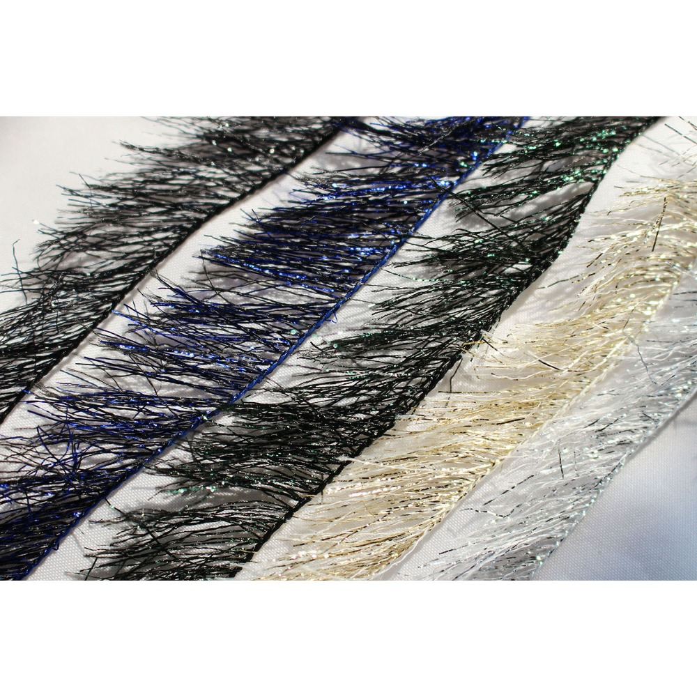 PEARL CRYSTAL CHENILLE 5 YARDS FOR FLY AND JIG TYING YOU PICK SIZE