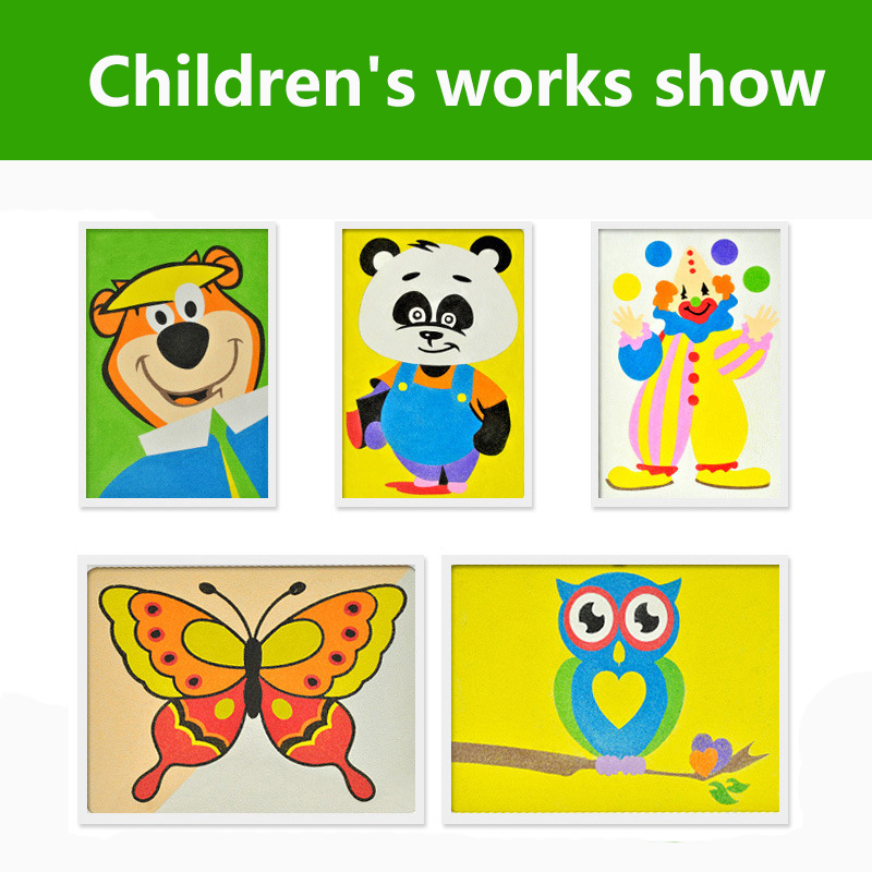 12 Color Sand Painting Children Drawing Toys Sand Painting Kid DIY Crafts Education Toy For Boys and Girls