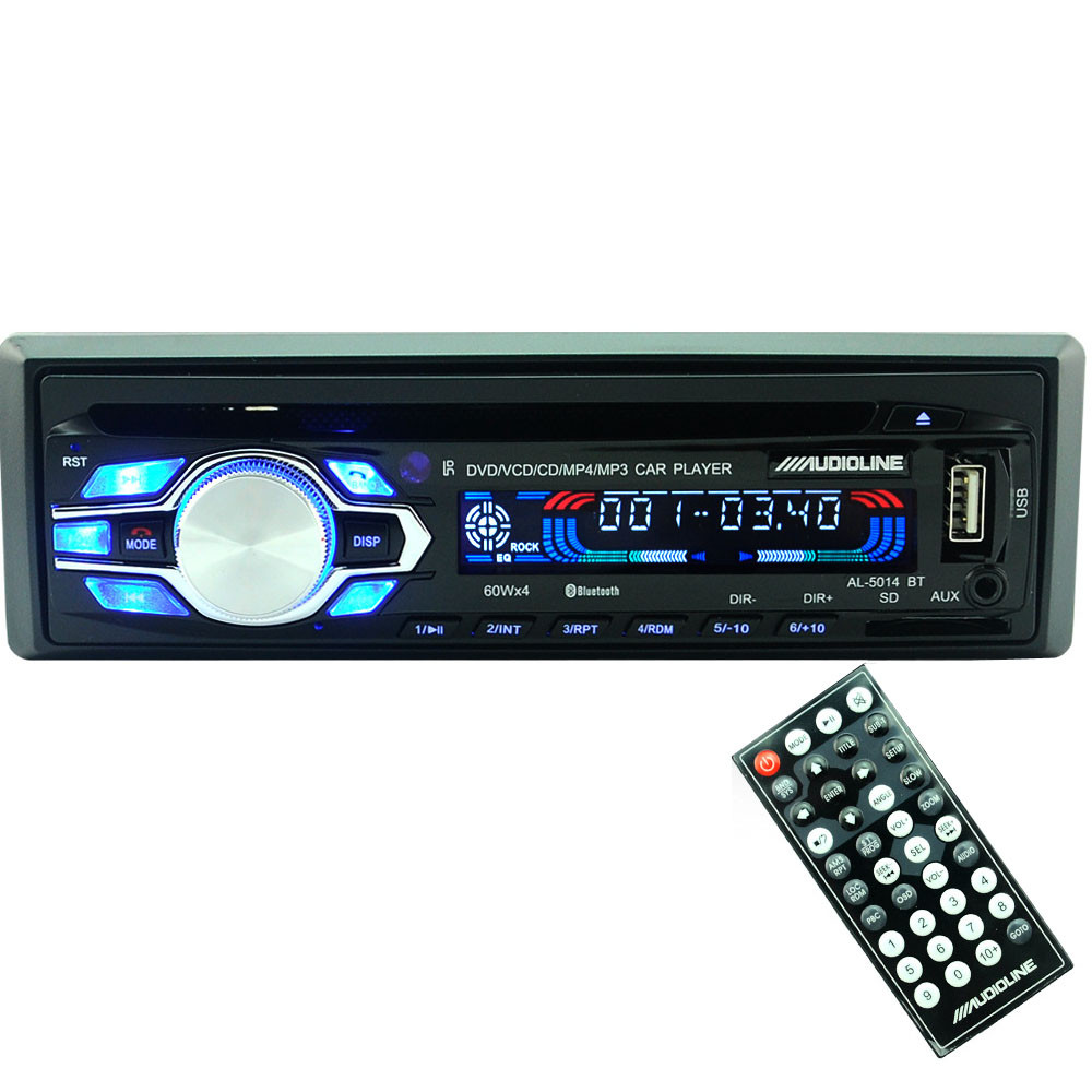 universal hot single din car bluetooth dvd cd player. Black Bedroom Furniture Sets. Home Design Ideas