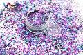 RL32-132 Mezclar Colores Dot formas Brillo para el arte del clavo y la decoración de DIY
