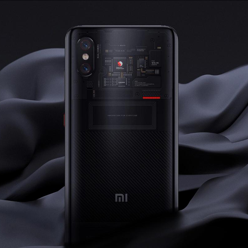 "Image 4 - Original Global Version Xiaomi MI 8 Pro 8GB 128GB 6.21"" Full Screen Snapdragon 845 20MP Front Camera Face Unlock NFC Mi8 Pro-in Cellphones from Cellphones & Telecommunications"