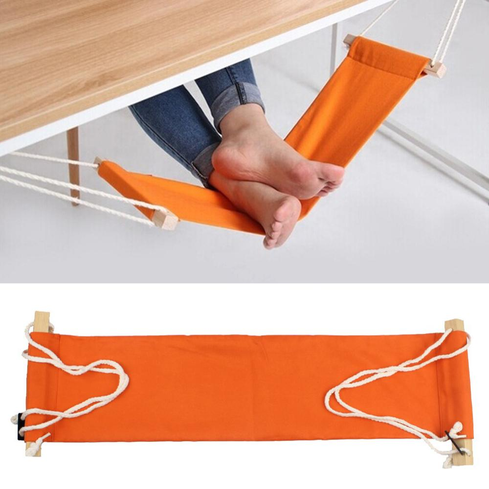 Outdoor Indoor Portable Outdoor Leisure Foot Rest Stand Desk Feet Hammock Easy to Disassemble for climbing Hiking Caming 65*17