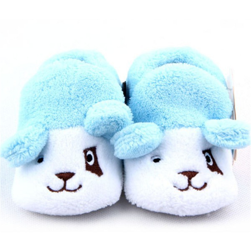Baby Infant Cotton Shoes Socks 6 Colors Boy Girls Animal Soft Sole Cozy Toddler Shoes Socks