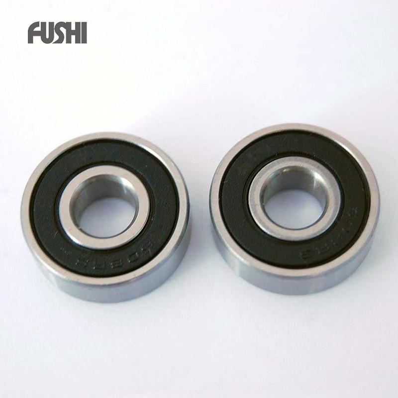 609RS Bearing ABEC-1 10PCS 9x24x7 mm Miniature 609-2RS Ball Bearings 609 2RS 1pcs 71901 71901cd p4 7901 12x24x6 mochu thin walled miniature angular contact bearings speed spindle bearings cnc abec 7