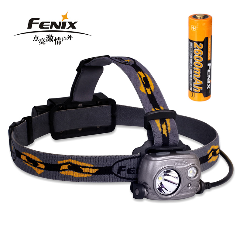 New Arrival Fenix HP25R 1000 Lumens Rechargeable USB Mountaineering Headlamp with Floodlight and Spotlight fenix hp25r 1000 lumen headlamp rechargeable led flashlight