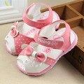Children's sandals for girls summer princess bow sandals baby girls  first walker  Kids open toe sandals