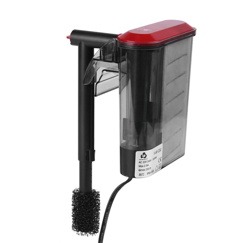 Aquarium accessories external hanging filter air pump mini for Outdoor fish tank filter