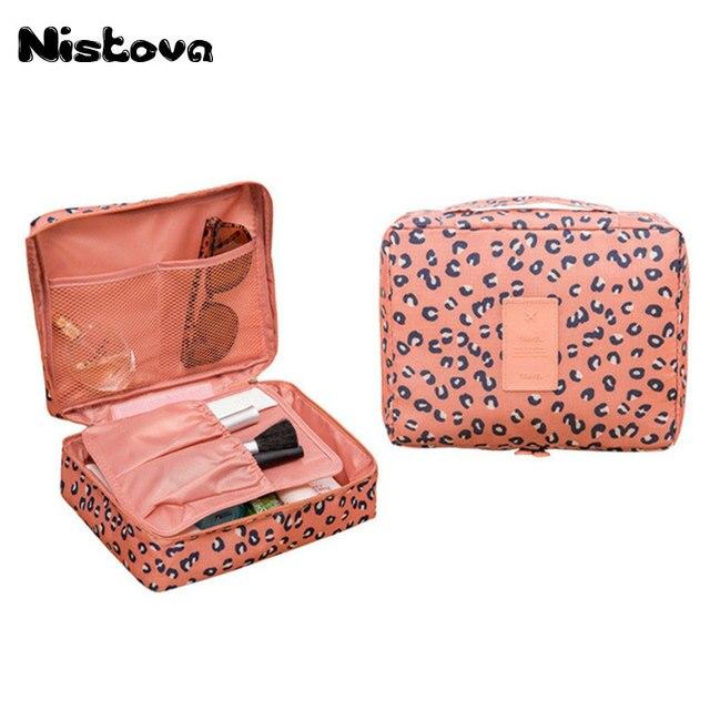 Neceser Zipper New Man Women Makeup bag Cosmetic bag beauty Case Make Up  Organizer Toiletry bag kits Storage Travel Wash pouch c241222ca13b0