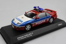Kyosho 1 43 NISSAN FAIRLADY Z police car original package alloy model car toy