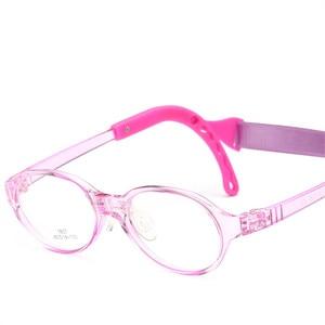 Image 5 - משקפיים לילדים ילד ילדה משקפיים אופטי משקפיים Eyewear מסגרת ילדי מרשם משקפיים מסגרת סיליקון האף טיפול 807