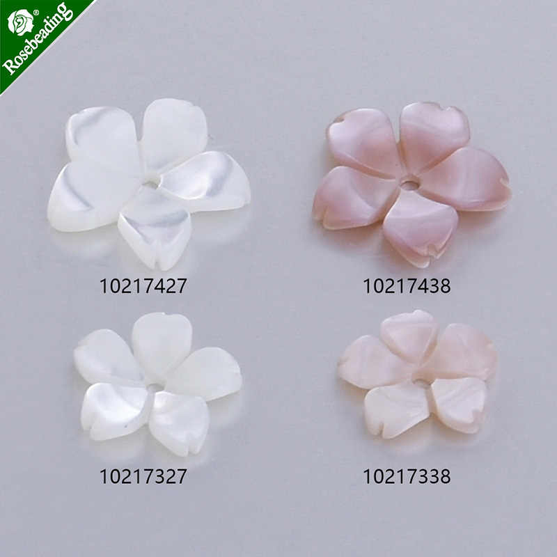 Mother-of-pearl shell Unique Shape Carved Shell Flower central hole 1mm Shell Jewelry Making,sold 6pcs/lot
