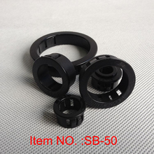 лучшая цена SB-50 Nylon cable protection hole plugs electrical wire grommets ring washer