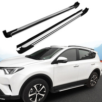 Side Step For Toyota RAV4 RAV 4 2016 2017 Running Board Nerf Bar Aluminum