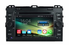 5.1.1 Quad Core Android Coches Reproductor de DVD GPS para Toyota Prado Land Cruiser 120 2003 2004 2005 2006 2007 2008 2009 BT De Radio Wifi