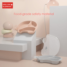 лучшая цена BabyCare Baby Silicone Plate Tableware Infant Food Container Cup Suction Bowl Kids Food Tray Children Placemat Baby Feeding Dish