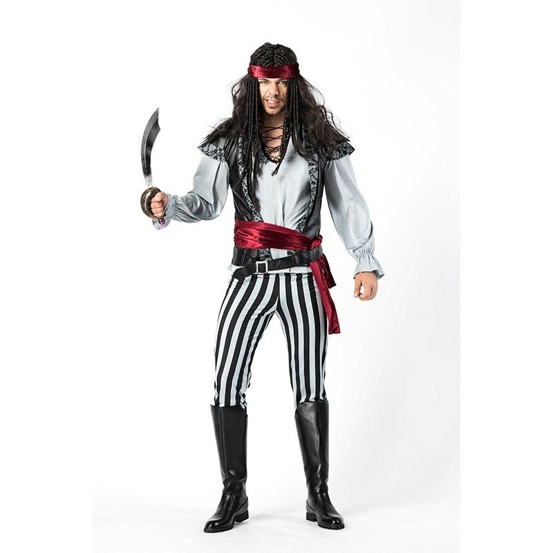 Pirate Hat Caribbean Jack Fairytale Fantasy Men/'s Fancy Dress Costume