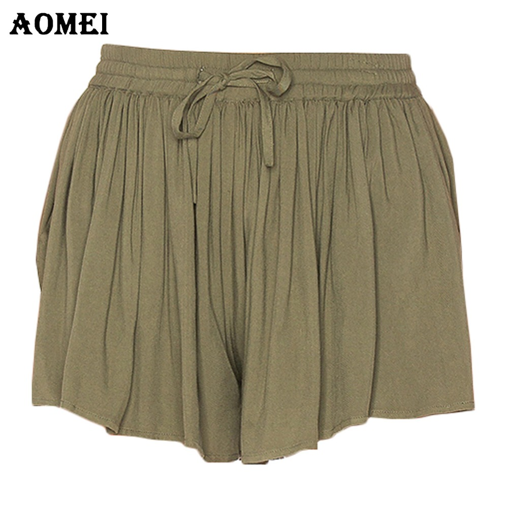 Compare Prices on Womens Green Shorts- Online Shopping/Buy Low ...