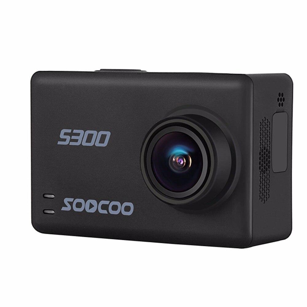 Soocoo на S300 действие Камера 2.35 touch lcd hi3559v100 + imx377 4 К 30fps EIS Wi Fi 12MP CMOS дистанционного внешний MIC Спорт Cam