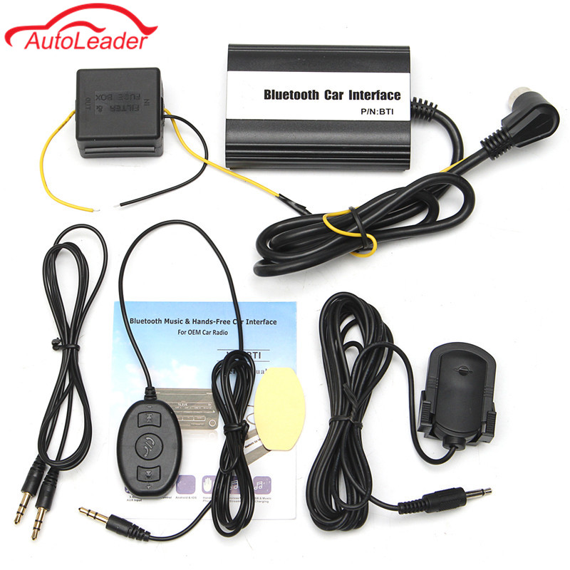 1set Auto Bluetooth Kits Hands-free USB SD 3.5MM AUX Car MP3 Adapter Cable Interface For Volvo Hu CD Change