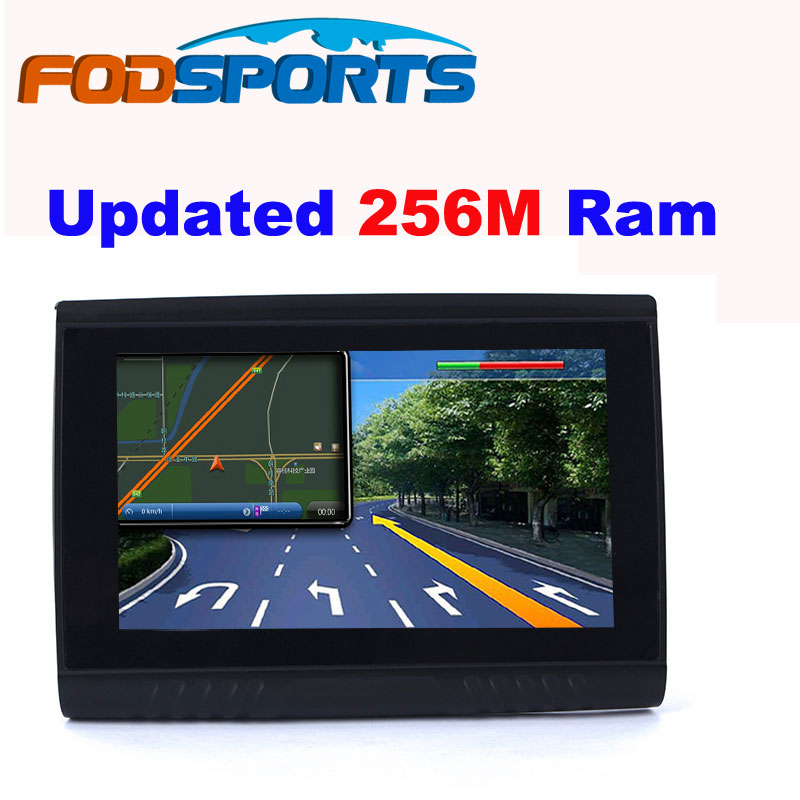 2016 Updated 256M Ram HD Screen Fodsports Brand 5 Waterproof IPX5 Bluetooth font b GPS b